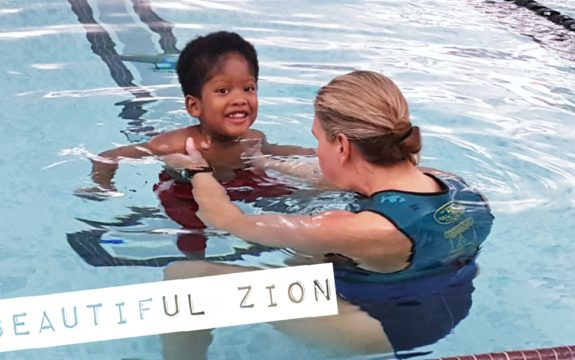 Zion at Aqua Ability Swim Therapy