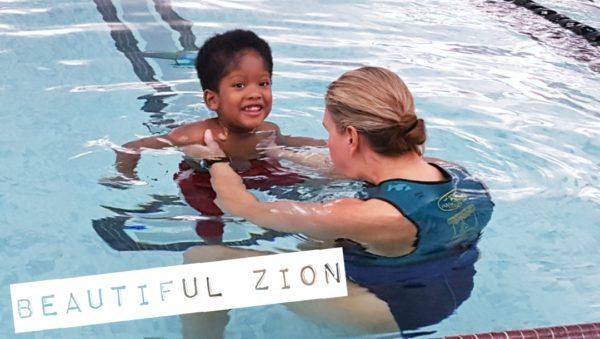 Zion at Aqua Ability Swim Therapy