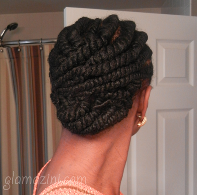Flat Twists on Natural Hair Natural Hairstyle Goddess