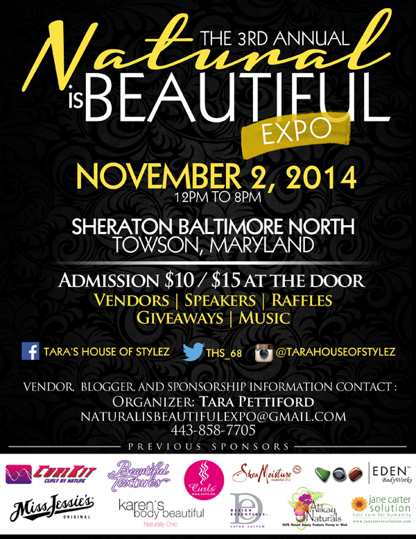 The 3rd Annual Natural Is Beautiful Expo