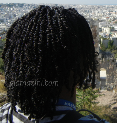 Flat Twists on Natural Hair