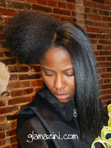 how to keep pressed hair from reverting