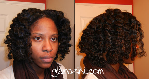 Natural Hair Washed After Flat Ironed