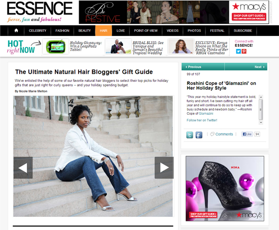 glamazini featured on Essence.com