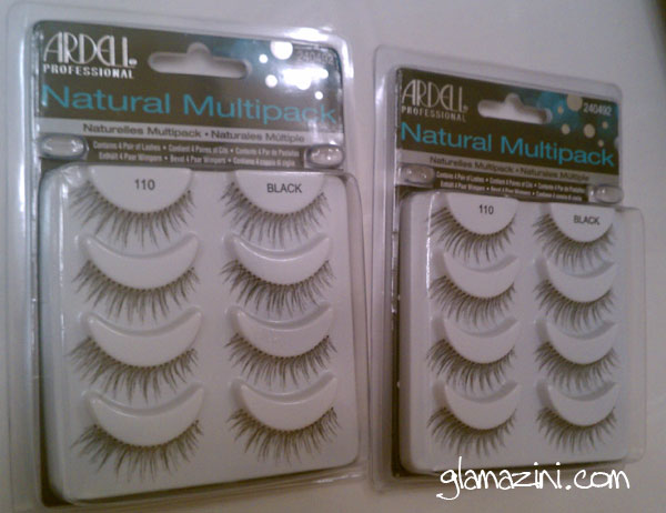 #110 Natural lashes Multipack from Ardell