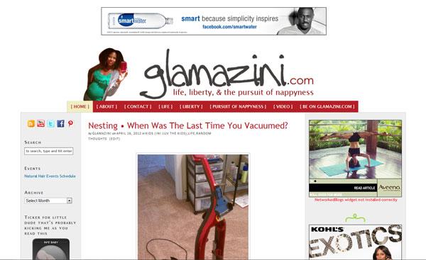 Glamazini.com April 2012