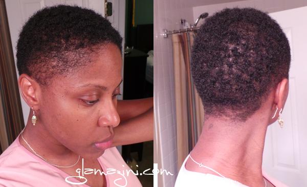 short natural hair regimen