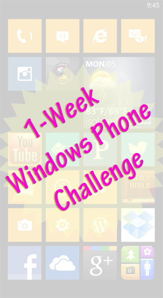 1-Week Windows Phone Challenge