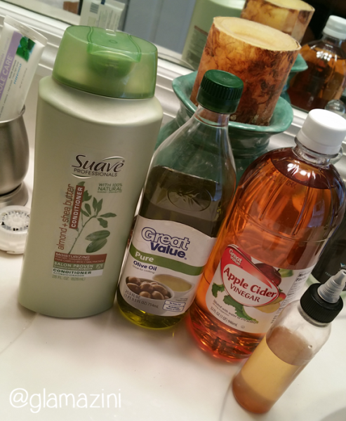 wash day natural hair products