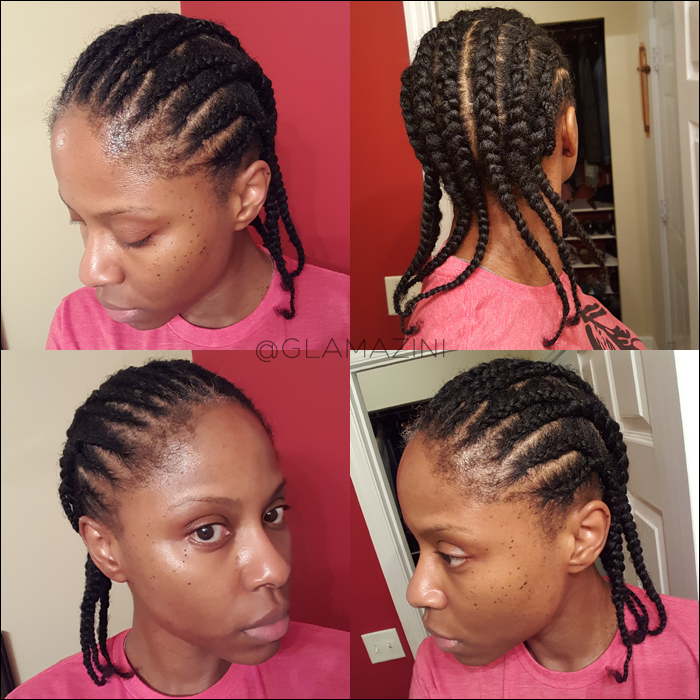 crochet braid braid pattern