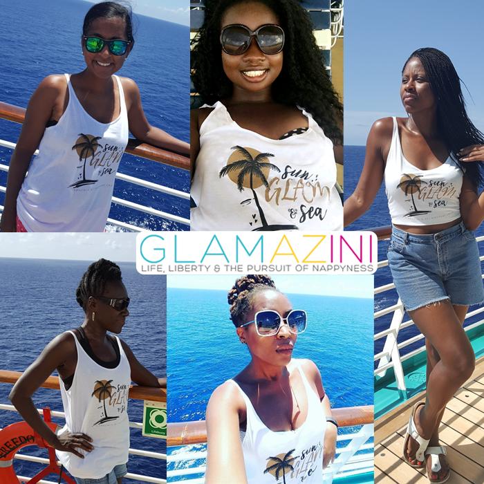 Sun Glam and Sea Tank Top