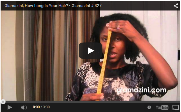 Glamazini, How Long Is Your Hair?