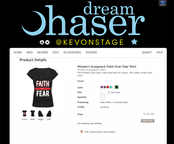dream chaser t-shirt review