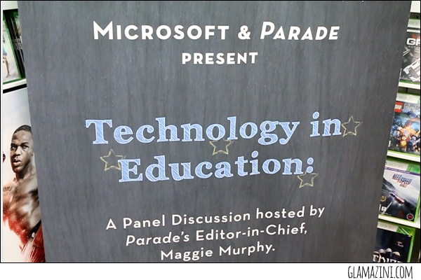Microsoft & Parade Magazine Talk Technology in Education