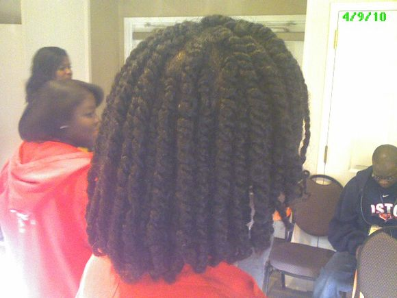 Dana's Two Strand Twists!