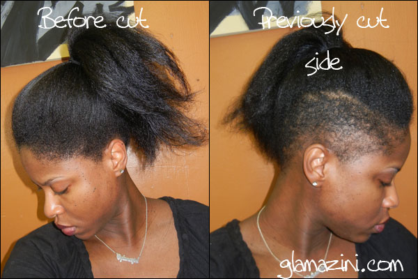 Terrific I Shaved The Other Side Of My Hair Glamazini Com Short Hairstyles For Black Women Fulllsitofus