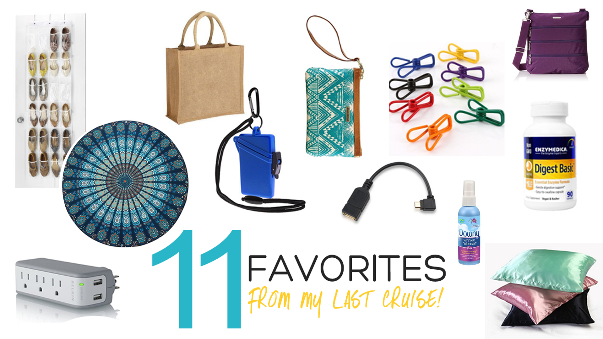 11 Favorite Items From My Last Cruise