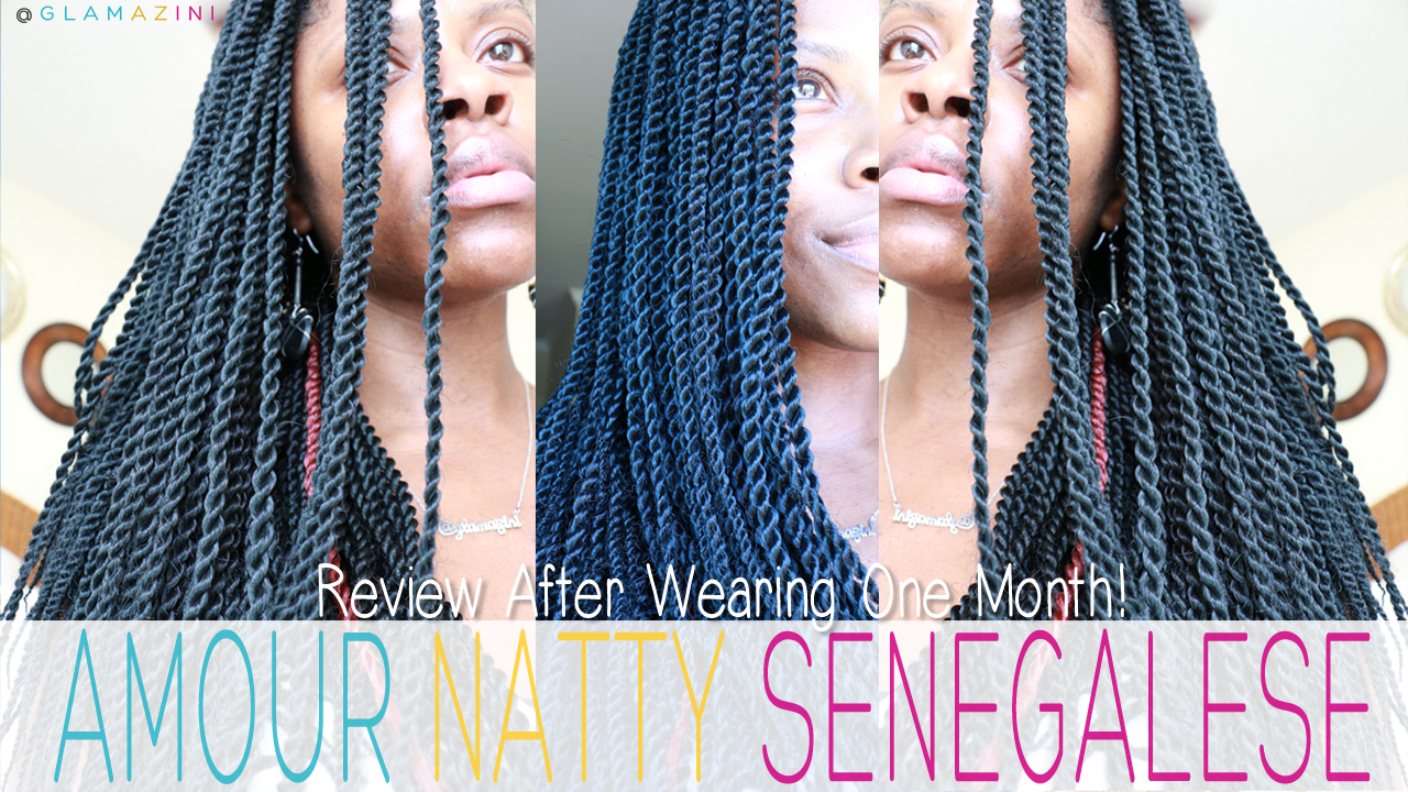 Amour Natty Senegalese Twist Hair REVIEW After A Month [+ video]