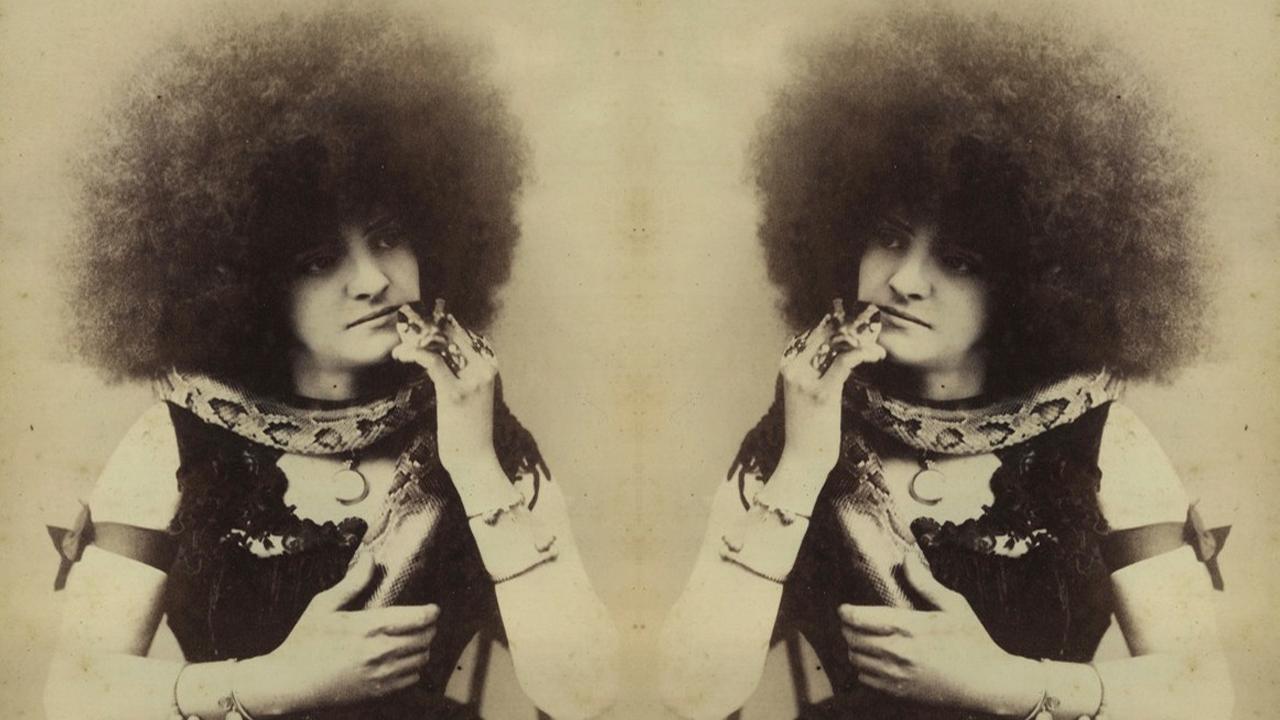 Circassian Beauty White Woman W An Afro Glamazini