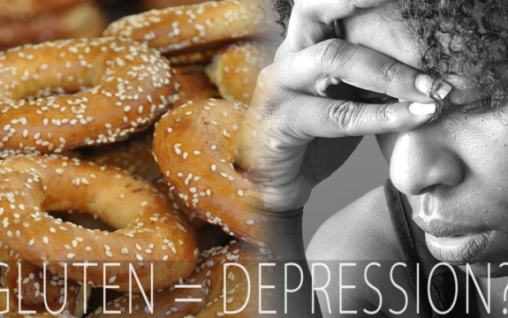 Is This Bagel Making Me Depressed? #Gluten = #Depression??! #butcake*real tears*