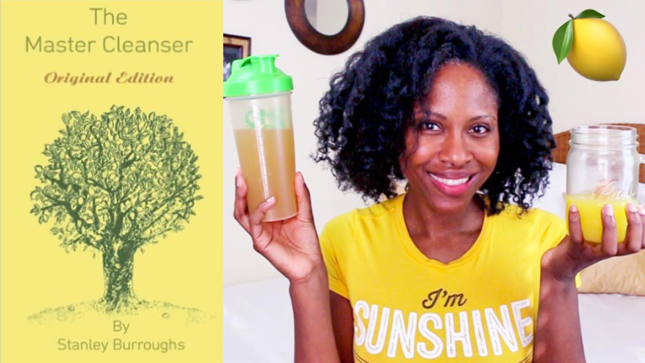 Master Cleanse Lemonade Detox Diet Tips Q A Glamazini