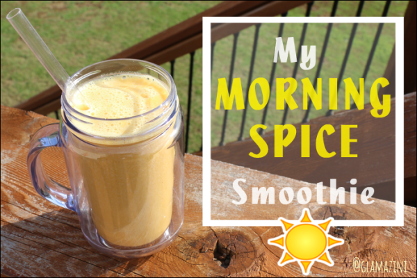 My Morning Spice Smoothie