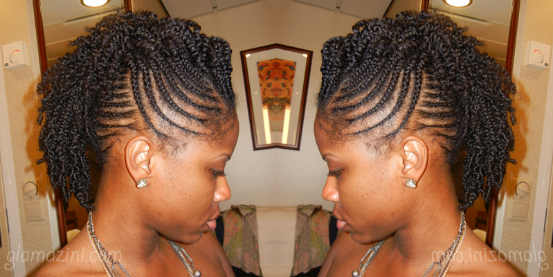 Cruise Hair Part 1: Natural Hairstyle For Your Vacation