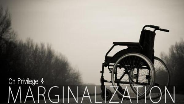 Privilege Marginalization Special Needs Disabilities