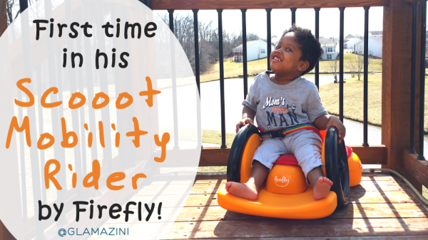 First time in Scooot Mobility Rider by Firefly