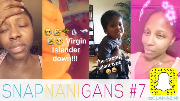 Gluten Bombs of Regret & Virgin Islander Down! • Snapchat Vlog [video]