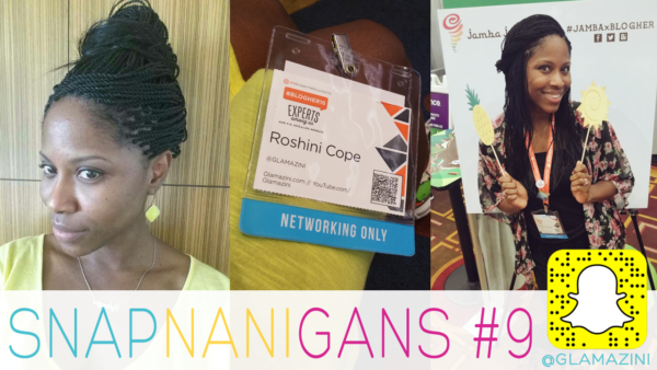 In Los Angeles for BlogHer Conference #BlogHer16 • Snapchat Vlog [video]