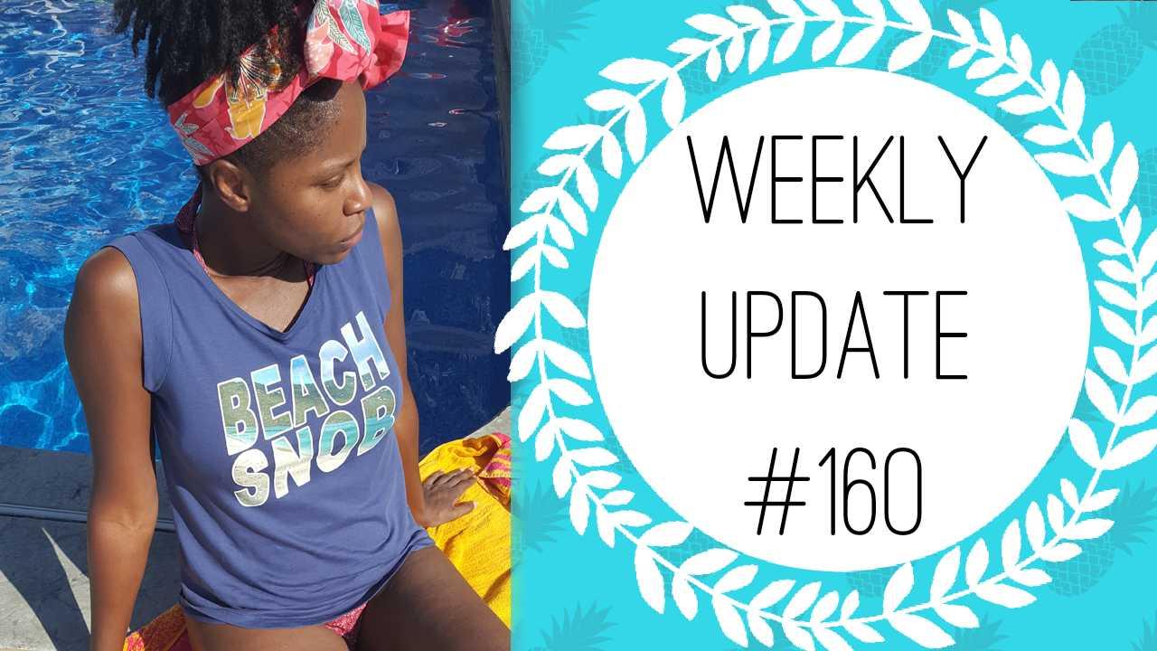 Life Coaching, Starting Locs, Beach Snob Shirt & Houston • @Glamazini WEEKLY UPDATE #160