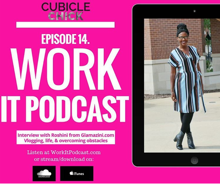 Glamazini Interviewed on #WorkItPodcast