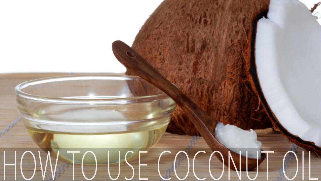 The Many Ways I Use Coconut Oil!