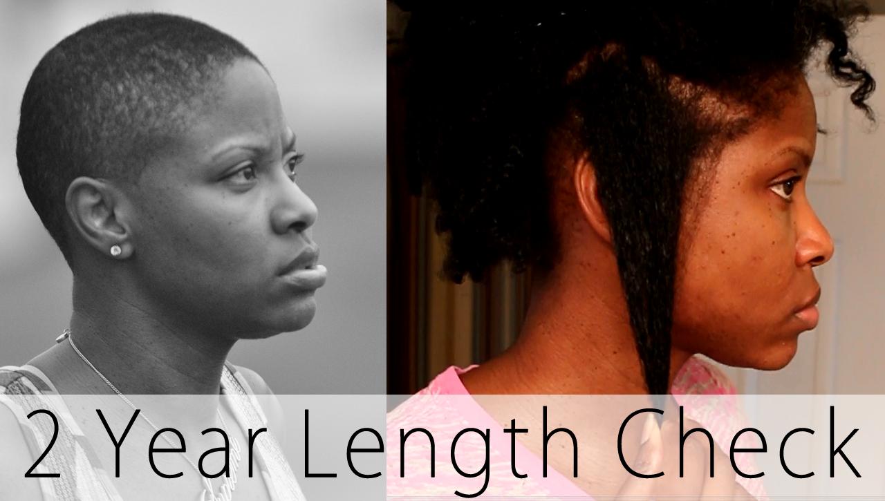 2 Years Since Bald • Natural Hair Length Check