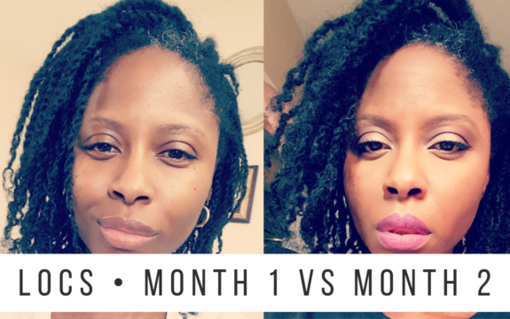 Starter Locs • Month 1 & Month 2 Comparison