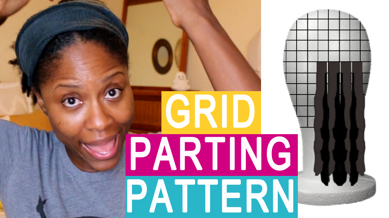 Grid Parting Pattern for Locs – PROS & CONS