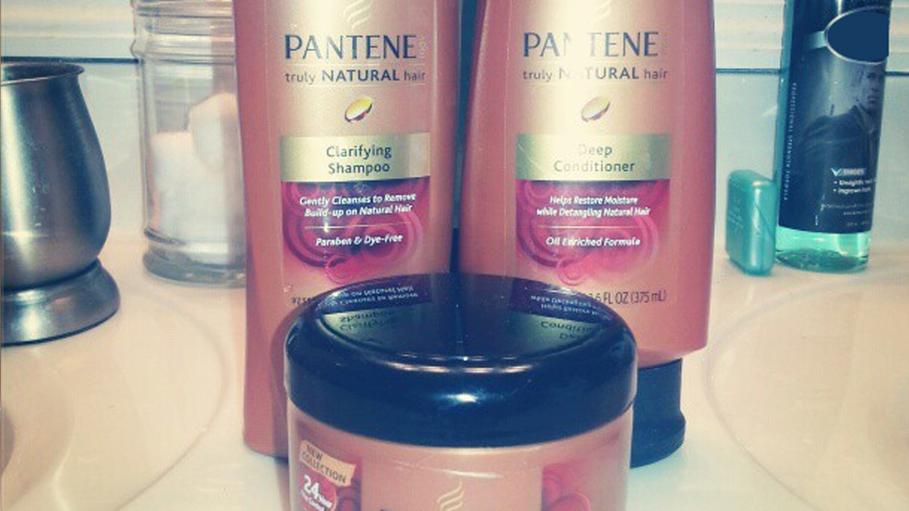 Pantene Truly Natural Hair