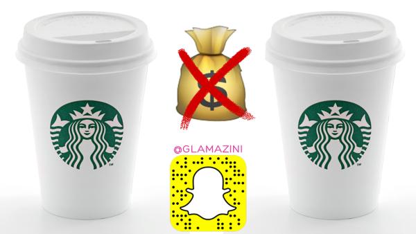 I Never Pay For Starbucks Coffee • Snapchat Vlog [video]