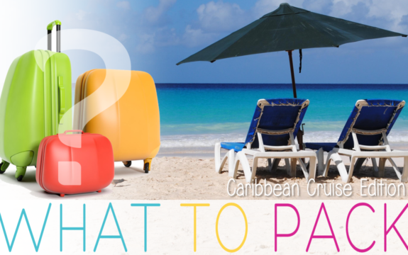 How To Write A Packing List For A Caribbean Cruise + Printable Packing List